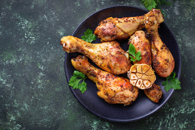 Lemon Garlic Chicken Drumstick
